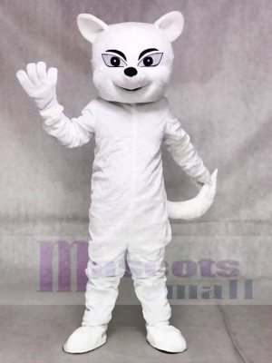White Fox Mascot Costumes Animal