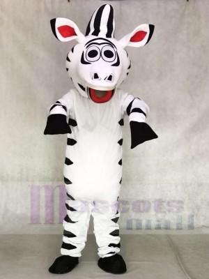 Cute Zebra Horse Mascot Costumes Animal