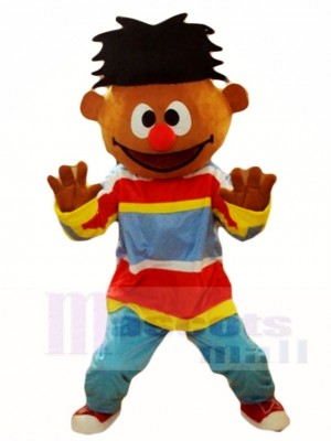 Sesame Street Boy Ernie Mascot Costumes People