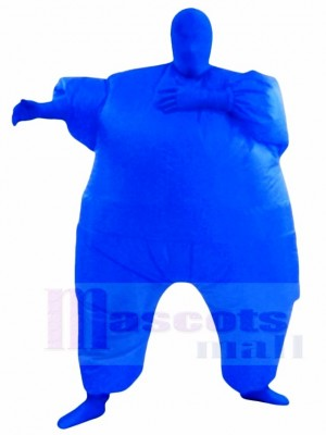 Blue Full Body Suit Inflatable Halloween Christmas Costumes for Adults