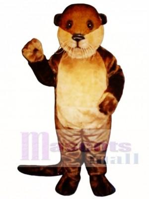 Ollie Otter Mascot Costume