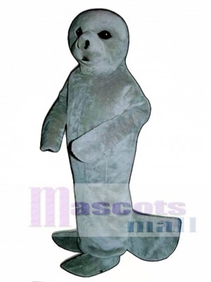 Cute Manatee Mascot Costume