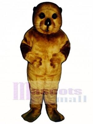 Cute Baby Otter Mascot Costume