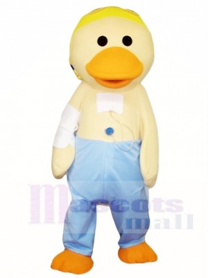 Yellow Duck Mascot Costumes Poultry