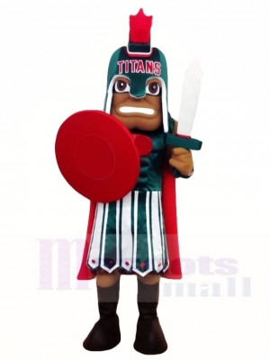 Warrior Titans Mascot Costumes People