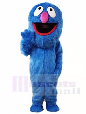 Sesame Street Super Grover Monster Mascot Costumes Cartoon