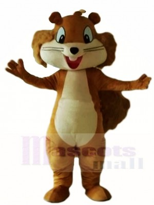 Brown Squirrel Mascot Costumes Animal