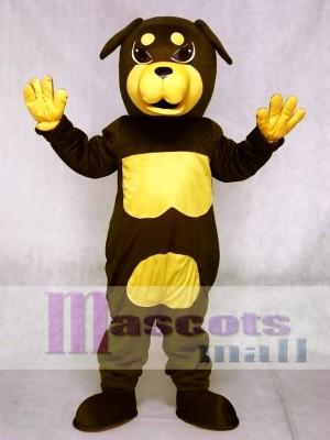 Cute Rottweiler Dog Mascot Costumes Animal