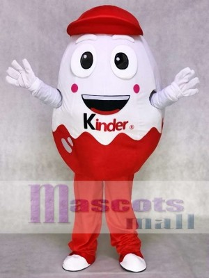 Kinder Egg Kinder Surprise Joy Easter Egg Mascot Costume