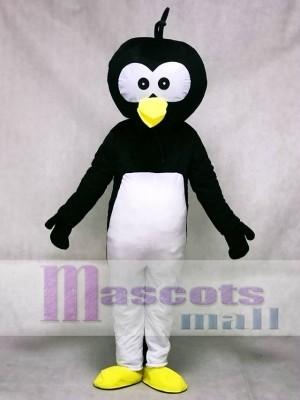 Black Head Penguin Mascot Costume Animal