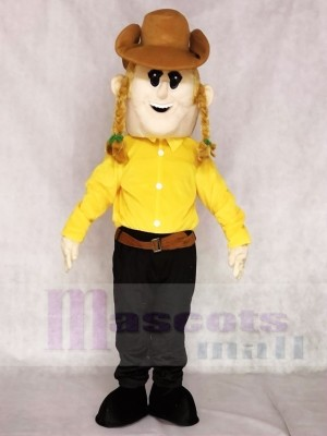 Cowgirl Mascot Costumes People
