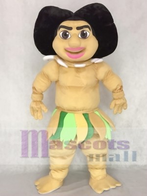 Maui Mascot Costume People