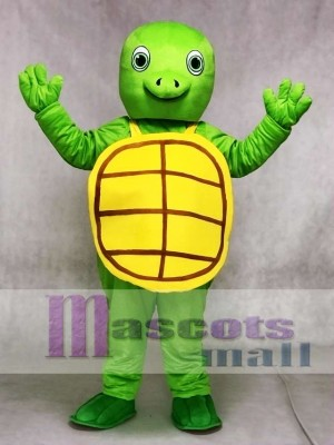 New Green Happy Turtle Mascot Costumes