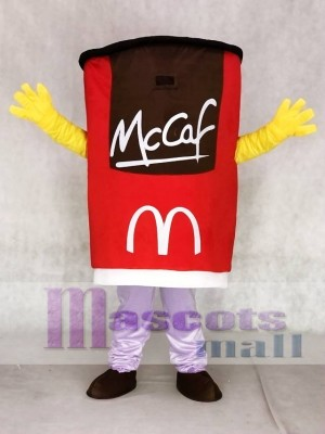 Red Cup Mug Tumblerful Glass Mascot Costumes