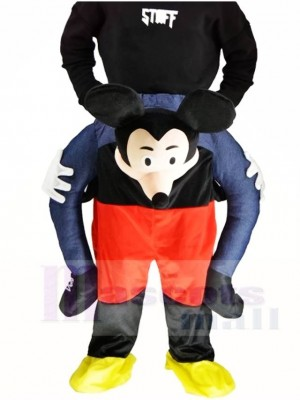 Piggy Back Mickey Mouse Carry Me Ride on Mascot Costumes Halloween Christmas