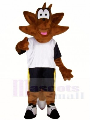 Brown Fox Mascot Costumes Animal