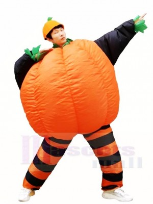 Pumpkin Squash Inflatable Halloween Blow Up Costumes for Adults