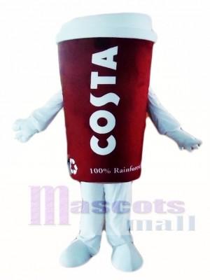 Costa Coffee Cup Tumbler Mug Mascot Costumes