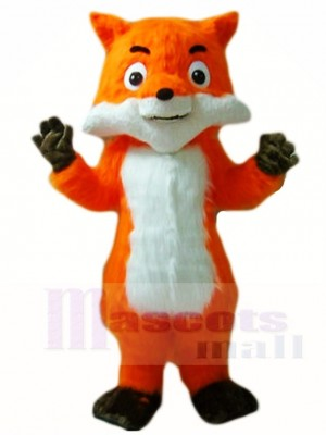 Orange Fox Mascot Costumes Animal