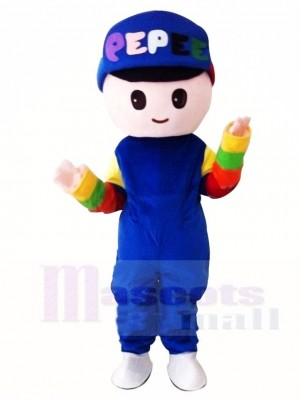 Pepee Boy Mascot Costumes Cartoon