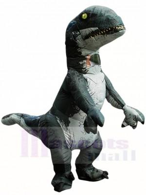 Tyrannosaurus T-REX Dinosaur Inflatable Halloween Christmas Costumes for Adults