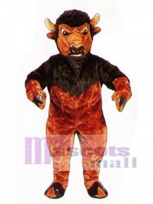 Cute Bison Mascot Costume