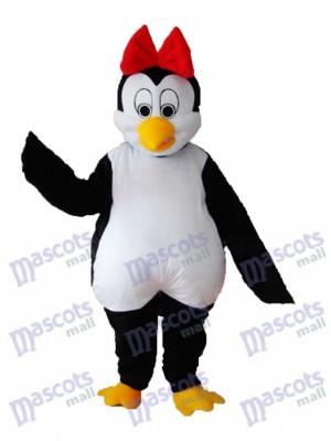 Flower Penguin Mascot Adult Costume