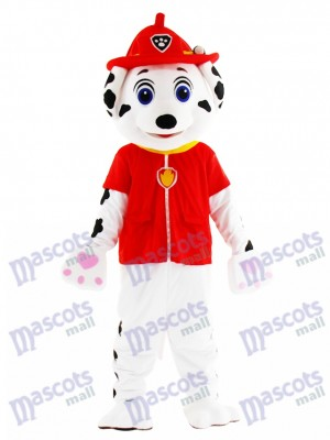 Marshall Paw Patrol Dog Mascot Costume Cartoon Anime