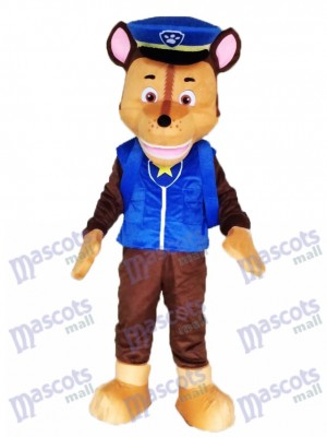 Paw Patrol Chase Mascot German Shepherd Dog Brown Puppy