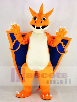Mega Charizard X Pocket Monster Pokemon Pokémon Firedragon Mascot Costume Cartoon