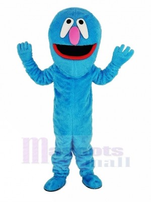 Sesame Street Super Grover Elmo Monster Mascot Costume