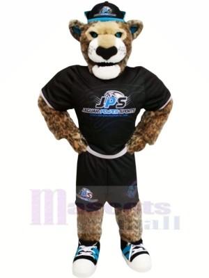 Power Sport Jaguar Mascot Costume Cartoon