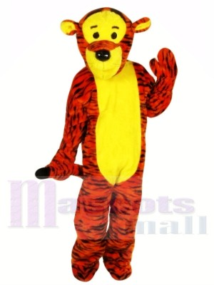Bouncy Tiger Mascot Costumes