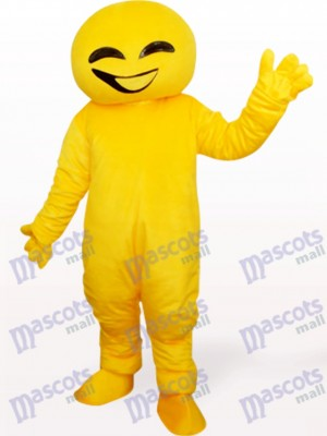 Yellow Doll Animal Adult Mascot Costume