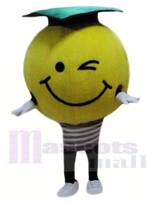 Light Bulb Mascot Costume