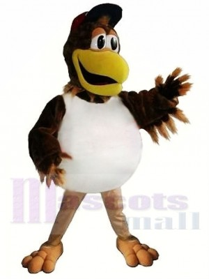 Sporty Baseball Chicken Mascot Costume