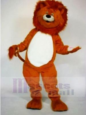 Realistic Cute Lion Mascot Costumes Cartoon