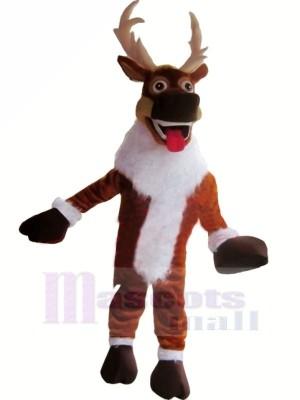 Christmas Reindeer Adult Mascot Costumes Animal