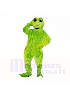 Green Friendly Lightweight Frog Mascot Costumes Cartoon