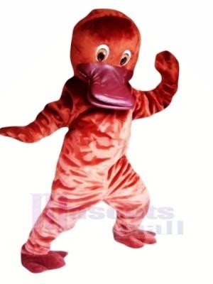 Cute Red Platypus Mascot Costumes Cheap