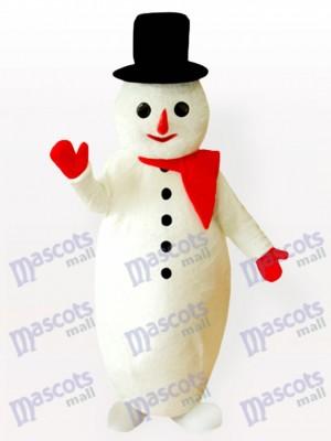 Potbelly Snow Man Christmas Xmas Mascot Costume