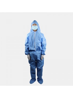 In Stock Protective Clothing Non-Woven Dustproof Overalls