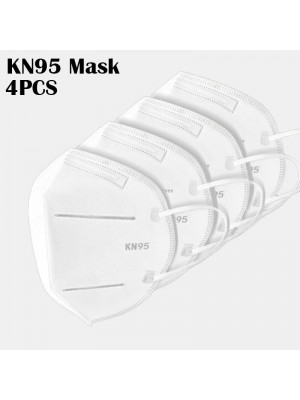 4pcs Face Mask KN95 In Stock Passed The GB-2626-KN95 Test PM2.5 Filter Respiratory Protective Mask