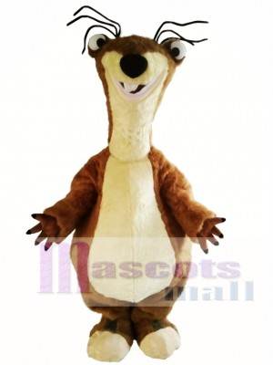Dawn of the Dinosaurs Sid Sloth Sidney Mascot Costume