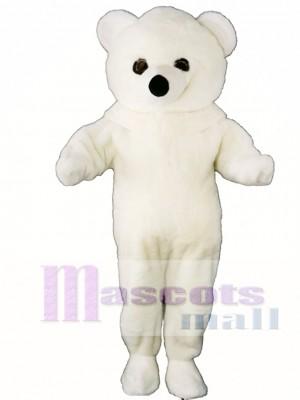 White Polar Bear Mascot Costume