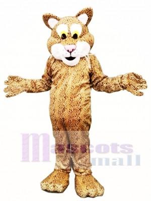 Leopard Tiger Mascot Costume