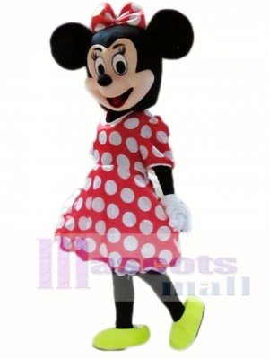 Hot Sale Minnie Mouse Adult Mascot Costume