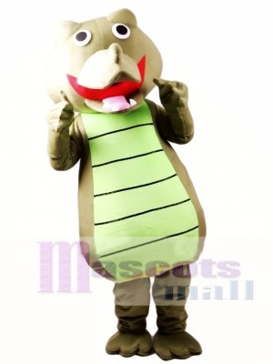 Crocodile Adult Mascot Costume