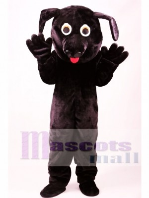 Black Labrador Dog Mascot Costume