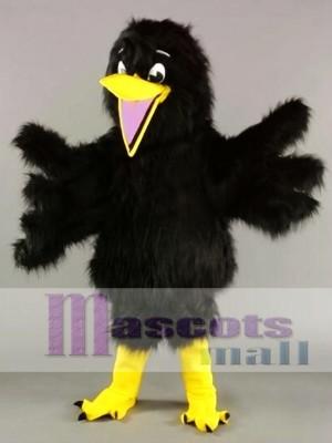 Black Bird Crow Mascot Costume